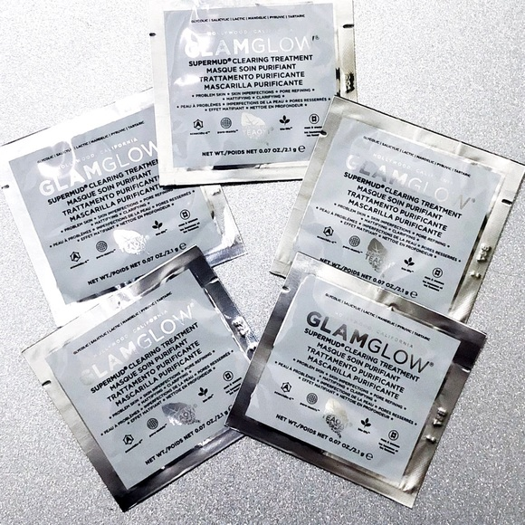 GLAMGLOW Other - 4/$20 Glamglow Supermud Clearing Treatment Mask